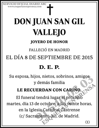 Juan San Gil Vallejo